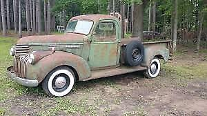 1941 - 1946 Chevy Truck **PARTS WANTED**