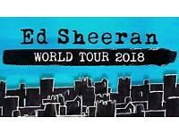 2 × Ed Sheeran tickets