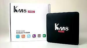 KM8 Pro Octa-core Android TV Box