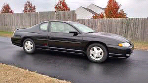 2002 Chevy Monte Carlo SS 3.8L in great condition