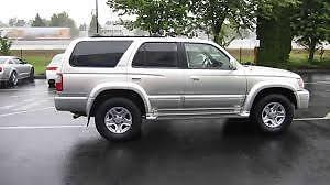 2000 Toyota 4Runner VUS