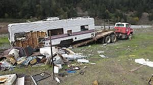 Salvage RV or travel trailer