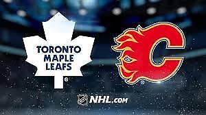 Flames vs Leafs - November 28th - 2 tickets (Hard Copy Tickets)