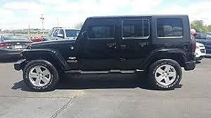 DUAL TOP 2010 Jeep Wrangler Unlimited Sahara