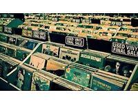 Vinyl Records Bought 4 Cash