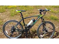 GREENEDGE 2 ELECTRIC MOUNTAIN BIKE