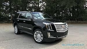 CADILLAC ESCALADE ESV - WANTED - 2015 or NEWER / BLK on BLK