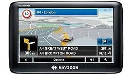 Navigon 4310Max Satellite Navigation System - Europe Traffic Widescreen