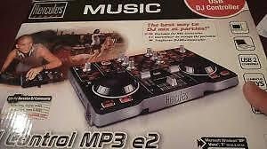 Hercules MP3 E2 Deejay Controller Stratford Kitchener Area image 1