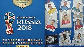 Panini football stickers - Russia 2018