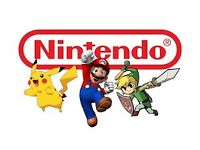 Mario, Pokemon, Lego games wanted!