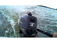 2012 YAMAHA 4HP SHORT SHAFT OUTBOARD ENGINE / 4 STROKE / IMMACULATE CONDITION / RUNS LIKE A DREAM !