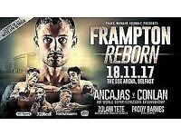 3 Carl Frampton Tickets - 18th November 2017
