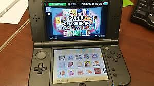 The Newest Nintendo 3DS XL System With The Game Mario Hoops!