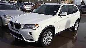 2011 BMW X3 AWD XDrive28i with Sun / Moon Roof  in White