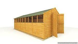 20x10ft Workshop Sheds