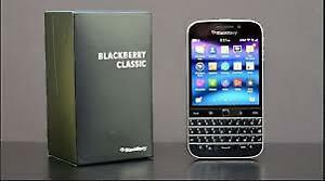 Blackberry Classic - Black - Unlocked to all carriers  LNIB