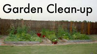 Yard Clean-ups and Weekly Garden Maintenance