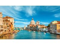 2x One Way Flight Ticket to Manchester From Venice