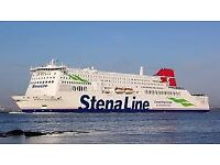 Return Ferry Tickets - Harwich to Hook of Holland - Family 5-berth cabin window, Pet dog/cat to 25kg