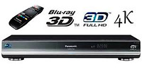 Panasonic Smart 4K Upscaling 3D Blu-Ray Disc Player