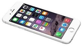 Apple iPhone 6 Smart Phone - White/Silver -64GB - Unlocked