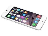 Apple iPhone 6 Smart Phone - White/Silver -64GB - Unlocked