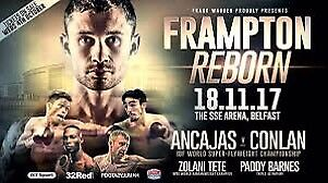 2 x Carl Frampton Tickets