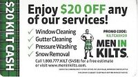Window cleaning and More.....