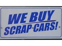 SCRAP CAR , ANY SCRAP CAR OR VAN WANTED
