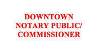 Weekend Commissioner - $30 - 403.390.7033 & Notary Public