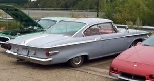VERY RARE Plymouth Fury 1961 2 Door HT
