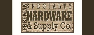 FREEMAN SPECIALTY HARDWARE