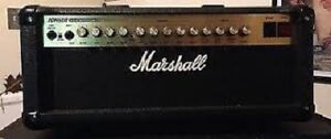 "1997 Marshall "" Made in England "" All Tube Head Excellent Shape"