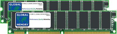 512MB 2x256MB DRAM DIMM KIT CISCO 12000 routeurs grp-b LIGNE CARTE (mem-grp-512)