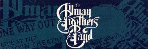 STICKER Allman Brothers Band Logo Decal -  Officially Licensed  B074
