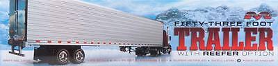 NEW Moebius 1/25 53  Trailer w/Reefer Option 1302