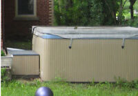 Good Condition Beachcomber Hot Tub, must go (Georgetown)