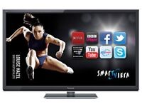 "PANASONIC 50""INCH SMART 3D Full HD 1080p TV WITH BUILT IN FREEVIEW ##CAN BE DELIVERED##"