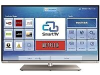 """NEW 48""""TOSHIBA SMART TV selling it for £230,,ONO.NEED QUICK.."""