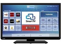 "Excellent 32"" TOSHIBA LED SMART TV hd ready, freeview"