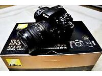 Nikon D3000 DSLR with Kit lens18-55mm in mint condition. comes with original box