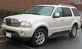 2003 Lincoln aviator parting out