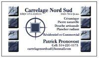 POSEUR DE CERAMIQUE//CARRELEUR//PLANCHER CHAUFFANT