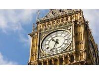 Dupla szoba március 7-április 4-ig kiadó Londonban, Big Bentől 5 percre