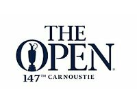 The 147th Open, Carnoustie 2018 2x Tickets