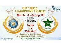 PAKISTAN V INDIA JUNE 2017 CHAMPIONS TROPHY TICKETS