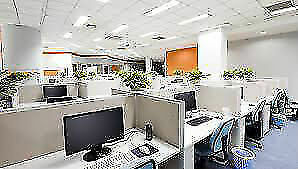 Office, commercial, building cleaning. Free estimate. Insured