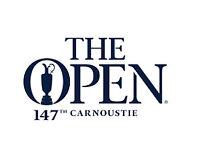 2018 Open Championship - 2 x Champions Club Hospitality tickets Saturday 21st July