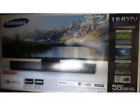 "Brand new in box Smart TV 55"""